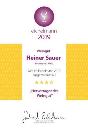 Eichelmann Urkunde 2019