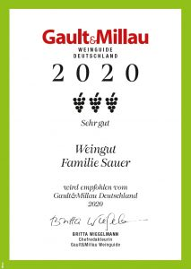Gault Millau Urkunde
